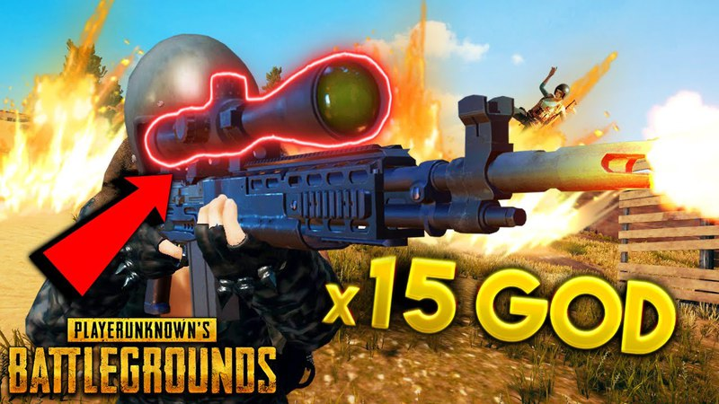 MK14 x15 Scope BIG PLAYS!! | Best PUBG Moments and Funny Highlights - Ep. 233