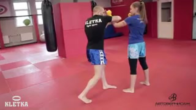 Локти в тайском боксе muay thai. Андрей Басынин
