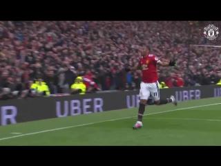 Martial goal vs Tottenham