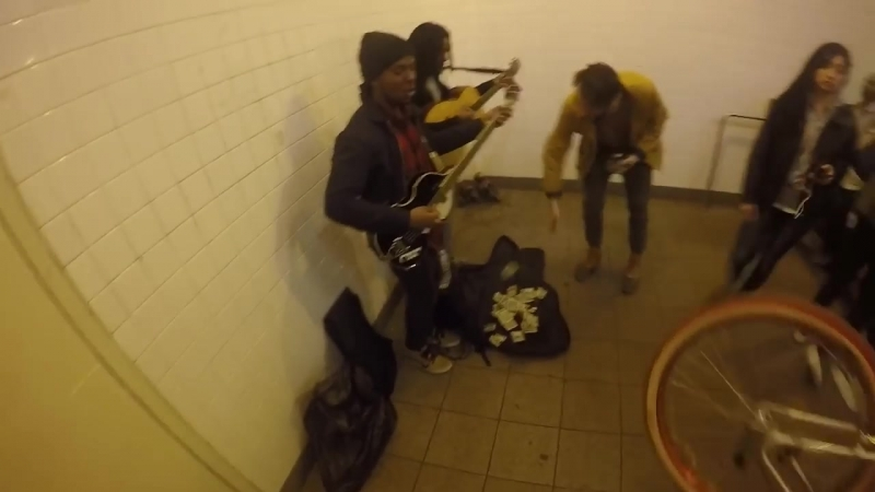 You meet the nicest people with a GoPro BLAC RABBIT JAMS