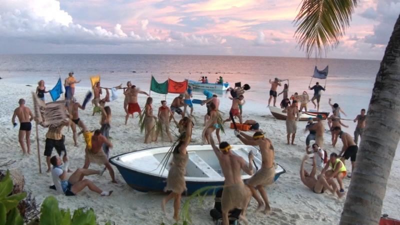 🏝НЕОБИТАЕМЫЙ ОСТРОВ🏝 Ожидание реальность Гарлем шейк от выживших на острове