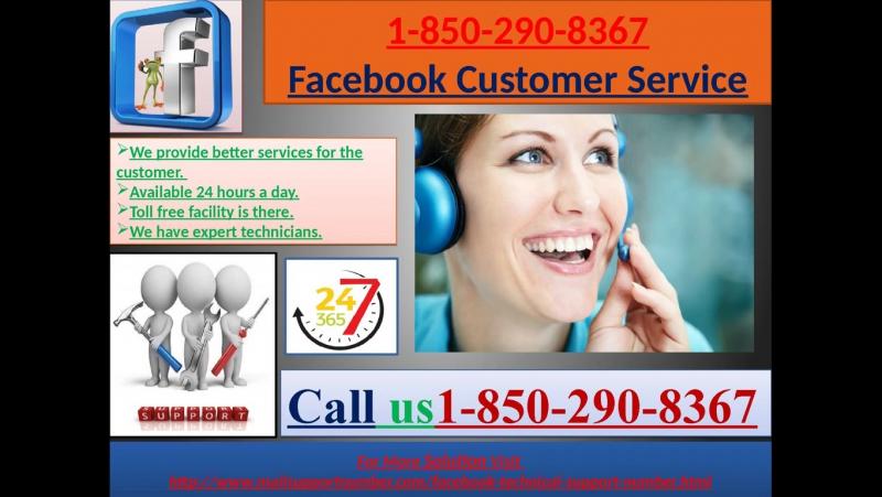 Facebook Customer Service – 1-850-290-8367 A Prompt Approach