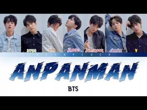 BTS (방탄소년단) - ANPANMAN Lyrics [Color Coded Han_Rom_Eng]