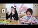 Смирнова Виолетта и Халитова Диана - решают примеры в уме