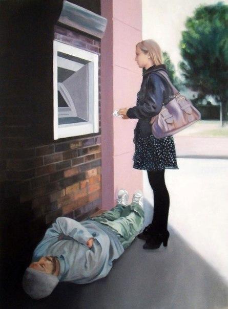 Александрин Дешайес (Alexandrine Deshayes) - французский художник. Родилась в 1981 году в Довиле. В 2000 году она поступила в Региональную школу изобразительных искусств города Кан, а в 2006 году окончила её с диплом национального образца в области пласти