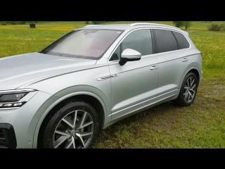 Новый Volkswagen Touareg: первое видео с тест-драйва