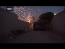 Сирия.05-1-2017.Боевики Джейш аль Ислам ведут ночной бой против подразделенний САА в восточной Гуте