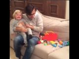 Алла Пугачёва, Максим Галкин и Лиза Галкины - Лизочке полтора года (instagram @maxgalkinru, 2018)