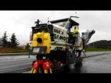 3D-фрезерование асфальта машиной Wirtgen W 200 с нивелирующей системой Level Pro и трехмерной Leica Pavesmart 3D