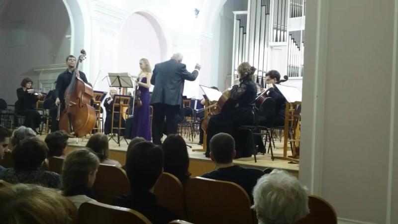Большой концертный дуэт для скрипки и контрабаса Дж. Боттезини