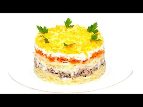 Классический салат «Мимоза»
