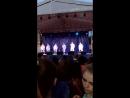 Отпуск. День 1. Праздничный концерт. Мужички на разогреве у популярной группы.