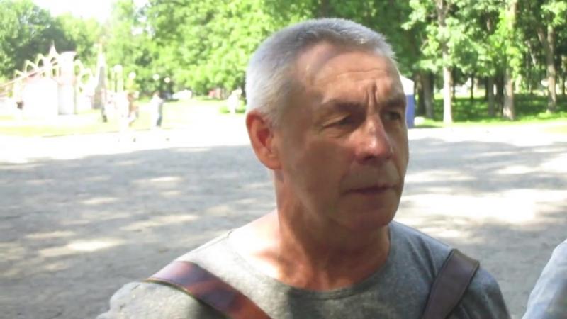 Голова сединою покрыта Исполняет Александр Дикарев