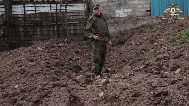 Массированный обстрел Горловки со стороны ВСУ.