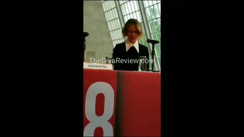 Пресс-конференция фильма «Восемь подруг Оушена» в Нью-Йорке | 22.05.18