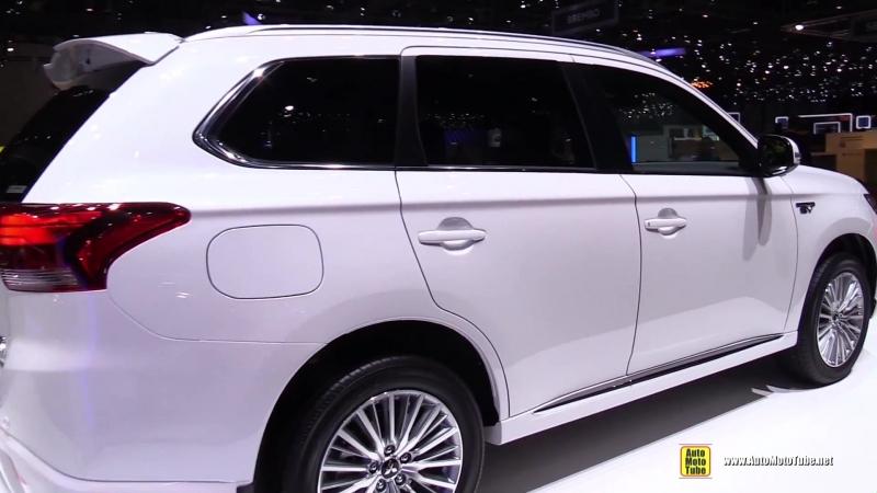 2018 Mitsubishi Outlander PHEV - Exterior and Interior Walkaround - 2018 Geneva Motor Show