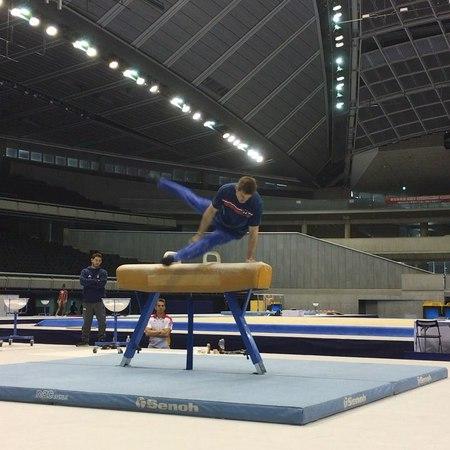 "日本体操協会 (Jpn. Gym. Association) on Instagram ""Way to go, Sam!! wc2018tokyo wc2018東京 @samuelmikulak"""