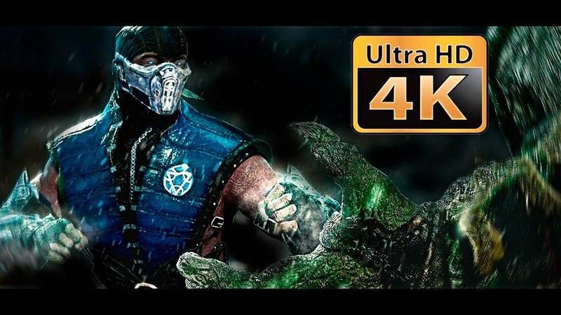 Mortal Kombat : Reptile VS Sub-zero 2018