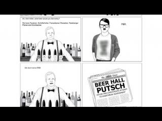 Пропаганда или сатира: в Эстонии появились комиксы про Гитлера-хипстера