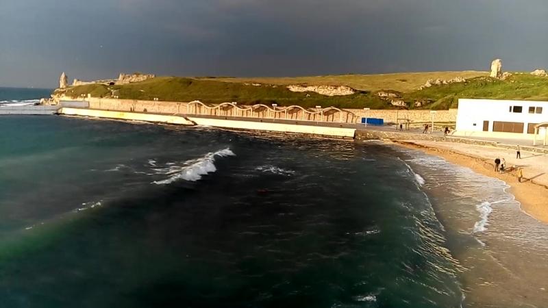Парк А. Ахматовой. Песочный пляж