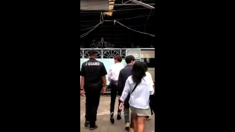 [VIDEO] 180211 БэмБэм в школе