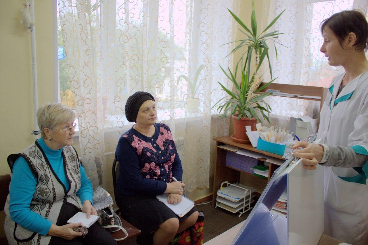 Занятие в Школе Диабета города Богородск
