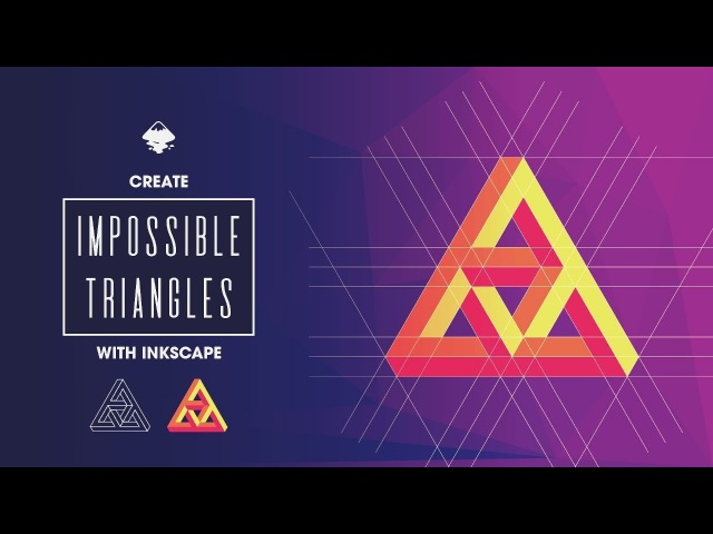 Inkscape Tutorial: Impossible Triangle Logo