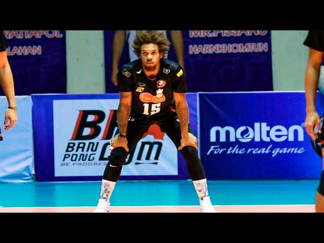 Terrel Bramwell - Volleyball Superman 💪