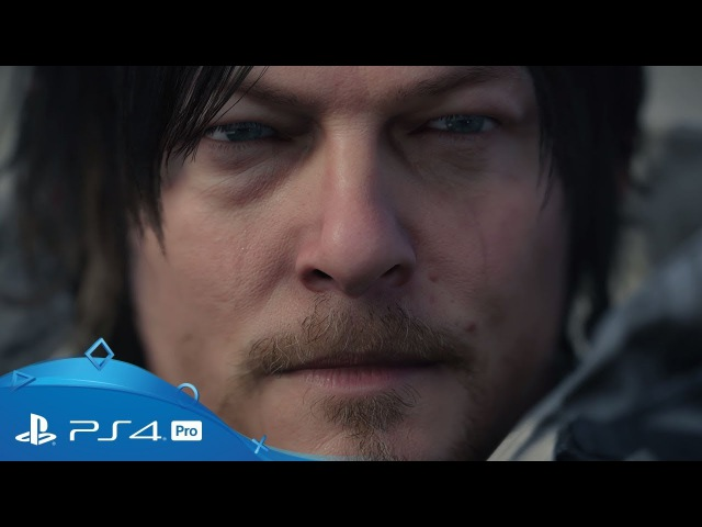 Death Stranding | TGA 2017: 4K Teaser Trailer | PS4 Pro