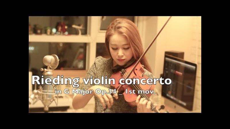 Rieding violin concerto in G Major op.34_1st mov.
