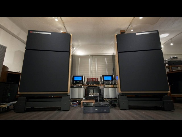 憧れのサウンド World's Greatest Speakers! KRS 4351 Bi-Amping by McIntosh MC1.2KW, DEQX HDP-4, 2x Hugo TT 9