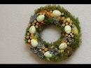 DIY пасхальный венок / Easter wreath