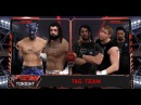 WFW RAW S E S vs The Shield ½ Final 1st contender for TagTeam Championship Tournament