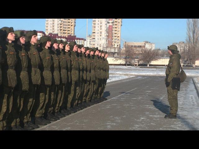 Специальный репортаж. К 50-летию волгоградской роты Почетного караула