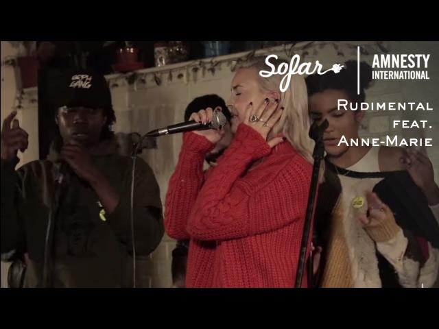 Rudimental feat. Anne-Marie - Rumour Mill | Sofar London - GIVE A HOME 2017