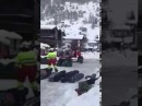 Доставка багажа вертолетом из за-схода лавины между Zermatt - Tasch | milano-transfer