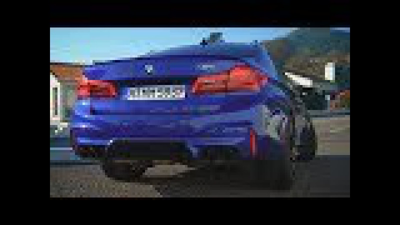 Новая BMW M5 - избыточная мощность.