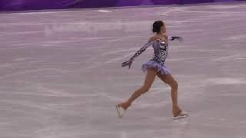 Зимние олимпийские игры 2018 Алина Загитова короткая программа мировой рекорд Олимпиада