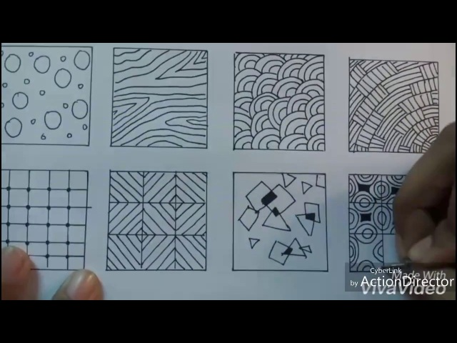 20 easy doodle patterns (tutorial)