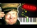 BENNY HILL YAKETY SAX Piano Tutorial