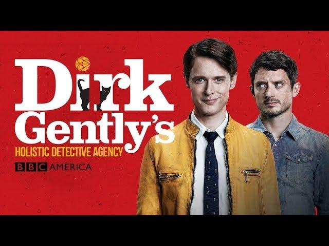 Заставка к сериалу Детективное агентство Дирка Джентли / Dirk Gently's Holistic Detective Agency