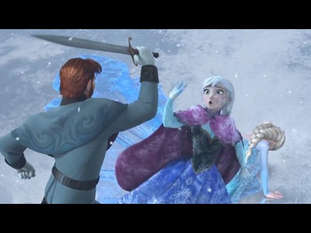 Frozen - Elsa Anna Funny Memorable Moments