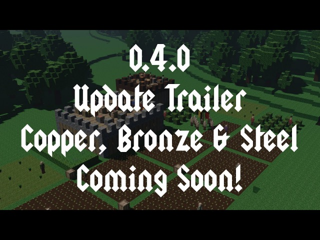 Colony Survival 0 4 0 Update Trailer Copper Bronze Steel