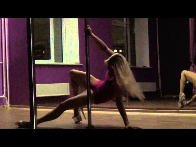Наталья Кузнецова. Связка Pole Dance Exotic