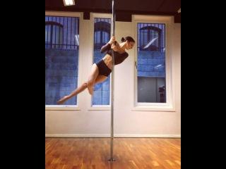 "Marion Crampe on Instagram: ""Twisted Gargoyle Flow Studio courtesy @sometimespole . Music free of credits ""New Times"" • • • #twistyourbody #flow #..."