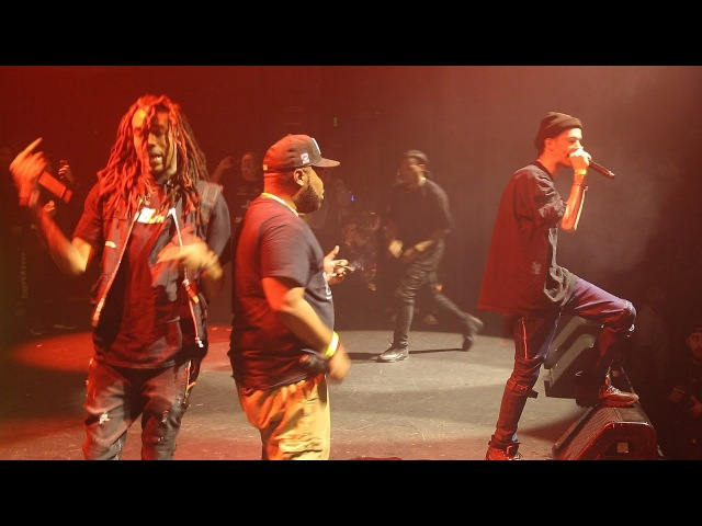 Bones, Xavier Wulf, Chris Travis, Eddy Baker: SESHOLLOWATERBOYZ (Live in LA, 1/13/18) FULL SHOW