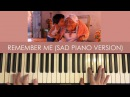 Coco - Remember Me (SAD EMOTIONAL PIANO VERSION)