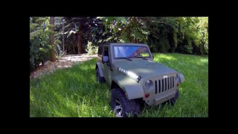 MST CFX Jeep Rubicon first run