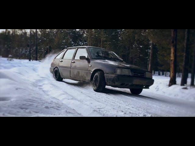Russian Hachiroku Winter Drift