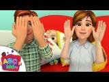 Peek A Boo Song | Cocomelon (ABCkidTV) Nursery Rhymes & Kids Songs